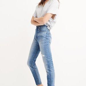Madewell Rigid High-Rise Skinny Jeans